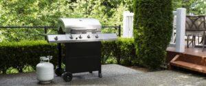 Gasgrill für Barbecue