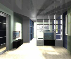 Raumteiler – Abgrenzen zweier Wohnbereiche