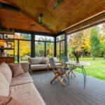 Deckenventilator für die Terrasse